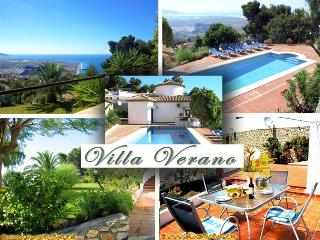 Luxury Villa Verano *** Heated Pool 30ºC = 86ºF *** Splendid Sea View - Salobrena vacation rentals