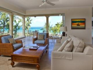 Beautiful lounge with wrap around balcony - 2nd Floor 3 Bedroom, 3 Bath Ocean Front Villa #201 - Grace Bay - rentals