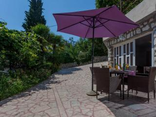 Apartment, 50m from a beach with big patio - No. 8 - Okrug Gornji vacation rentals