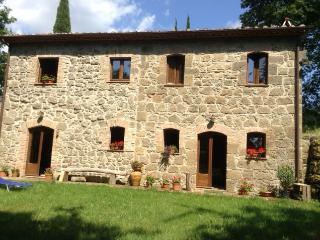 Bright 2 bedroom San Quirico di Sorano Farmhouse Barn with Dishwasher - San Quirico di Sorano vacation rentals