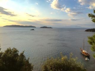 Beachfront Villa in Skiathos with Semi-Private Sandy Beach - Kanapitsa vacation rentals