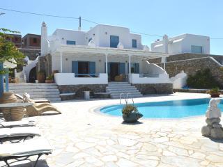 Mykonos Sea View.Pool. LUXURY VILLA BLU- Slps 6/7 - Mykonos Town vacation rentals
