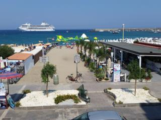 "MEGAS IN ""appartamentinaxos.  it ""  FRONT SEA IN CENTRAL AREA - Giardini Naxos vacation rentals"