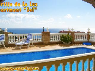 CORTIJO DE LA LUZ ** SOL ** SUPERB SEA VIEW & POOL - Almunecar vacation rentals