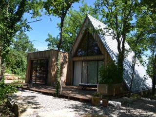 La Trigone du Causse:Maison bois& piscine partagée - Saint-Martin-Labouval vacation rentals