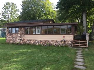 Gun Lake Cottage w/ Sandy Beach and Boat Dock - Free Soil vacation rentals