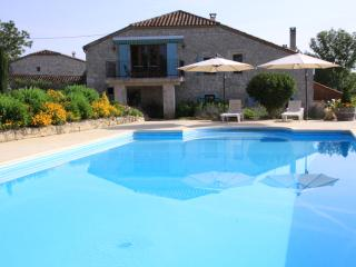 Quercy-style Stone Barn with Private Pool for 14 - Penne d'Agenais vacation rentals