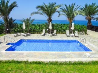 Sea front 3 bedroom villa with private pool - Kissonerga vacation rentals