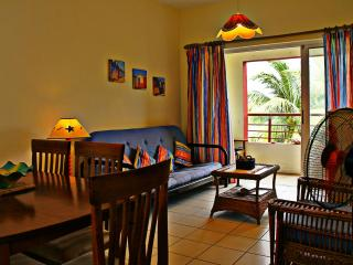 50m to beach w/ pool, fully equipped, WIFI - Flic En Flac vacation rentals