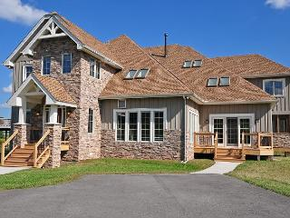 Exquisite 5 Bedroom Luxury Log home with private indoor swimming pool! - Swanton vacation rentals