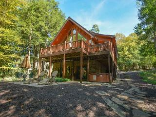 New Secluded Luxurious Lakefront Log Home w/ Hot Tub and Private Dock! - Oakland vacation rentals