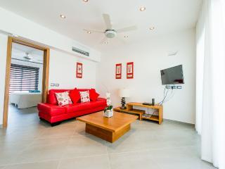 Modern 1-bedroom condo in beachfront complex (D2) - Las Terrenas vacation rentals
