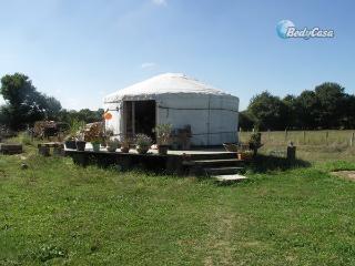 Yurt in Batilly-en-Puisaye, at Aurélie & Manou's place - Batilly-en-Puisaye vacation rentals