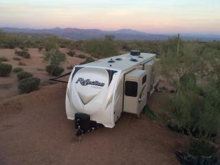 Luxury 2016 travel trailer on 62 acre ranch - Scottsdale vacation rentals