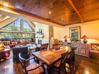 A vacation condo in Vail Village with beautiful views of Vail Mountain on the banks of Gore Creek, and a private roof-top hot tub. - Vail vacation rentals