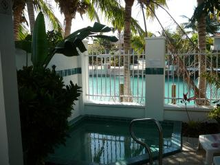 Hawks Cay Villa Spa located on Blue Water Lagoon - Duck Key vacation rentals