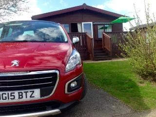 A LOVELLY LARGE LUXURY WOODEN LODGE 3 BEDROOM - Chwilog vacation rentals