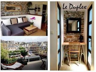 Duplex avec terrasse à 150m de la Plage - Granville vacation rentals