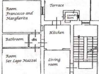 Datini Apartment in Tuscany (2 bdr, 1 btr), wifi - Prato vacation rentals