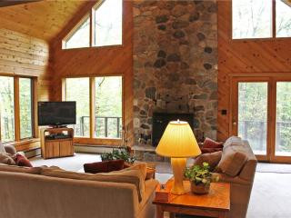Located at Base of Powderhorn Mtn in the Western Upper Peninsula, A Large Home in Serene Wooded Setting - Ironwood vacation rentals