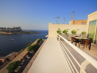Valletta Seafront Apartment with Amazing Terrace  (CG) - Valletta vacation rentals