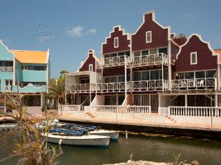 Caribbean Court resort - Great waterfront apartment Vista Marina with terrace - Kralendijk vacation rentals