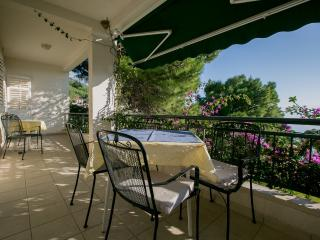 Apartment Nr 1.type 2+3,balcony with nice seaview - Brela vacation rentals