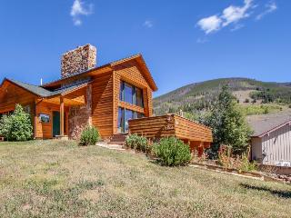 Gorgeous home with room for 7, spectacular views, fireplace! - Dillon vacation rentals
