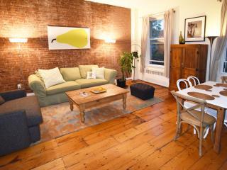 Big 2 bed/2 bath w/fireplace (3rd fl), E. Village - New York City vacation rentals
