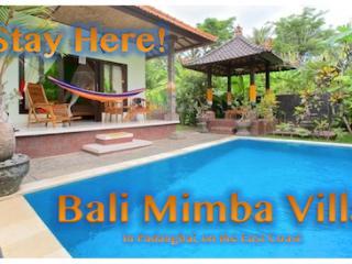 Bali's Magical East Coast Green House - Padangbai vacation rentals