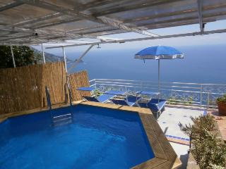 Casa Maria Teresa - seaview, WIFI, pool + parking - Praiano vacation rentals
