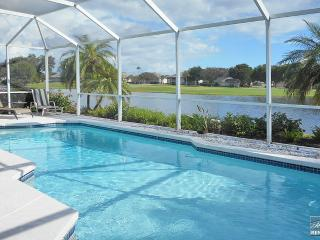 Bright & cheerful golf home with vibrant views and private pool. - Miromar Lakes vacation rentals