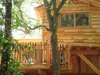 Romantic 1 bedroom Messanges Tree house with Central Heating - Messanges vacation rentals