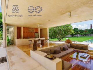 Stunning modern home base for Yucatan exploration. - Acanceh vacation rentals