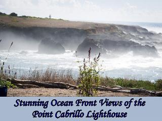 Ocean Dreams - Gorgeous Ocean Front - with views of the Light House - Mendocino vacation rentals