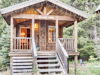 Intimate fairytale cabin w/wood stove, near ski resorts - dogs OK! - Government Camp vacation rentals