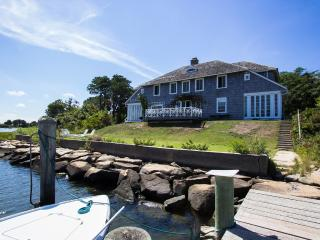 KEEFJ - Historic Waterfront Home Located just 1 Mile from Oak Bluffs Center, Private Association Beach and Tennis, Private Dock - Oak Bluffs vacation rentals