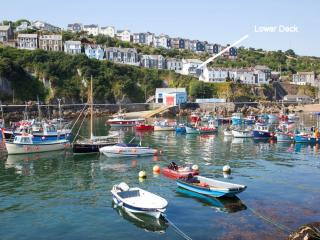 Lower Deck, Mevagissey located in Mevagissey, Cornwall - Mevagissey vacation rentals