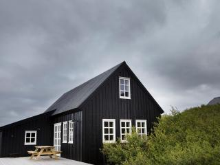 Traditional black timber house - Borgarnes vacation rentals