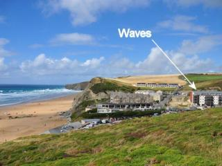 30 Waves located in Watergate Bay, Cornwall - Mawgan Porth vacation rentals