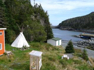 East Coast Newfoundland Tipi by the sea - Tors Cove vacation rentals