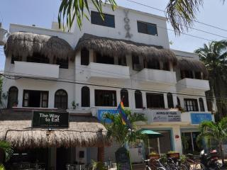 Studio 3 Yoga building half a block of 5th Av. - Playa del Carmen vacation rentals