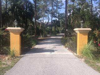 Serene Waterfalls, Garden, Privacy, Heated Pool - Naples vacation rentals