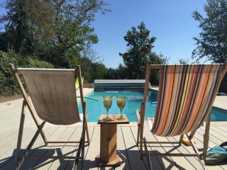 Beautiful French Farmhouse with heated Pool - Crozant vacation rentals