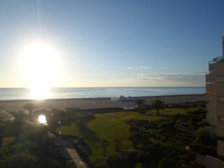 STUDIO CABINE à 50 Mètres de la plage VUE MER 4ème - Canet-Plage vacation rentals