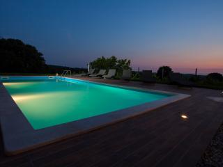 Villa Roza luxurious 3 bedroom villa with swimming pool and heated jacuzzi - Tinjan vacation rentals