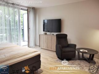 NEW studio apartment with balcony and sauna - Parnu vacation rentals