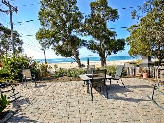 11/OCEAN FRONT Sand and Sea Cottage; Pet Friendly - Santa Cruz vacation rentals