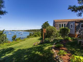 SMYTP - Waterfront - Lagoon, Dock, Privacy and Magnificent Views, Wifi, A/C (2nd Level Living Area) - Oak Bluffs vacation rentals