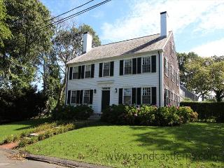CLASSIC COLONIAL LUXURY HOME IN EDGARTOWN WITH A HEATED POOL - Edgartown vacation rentals